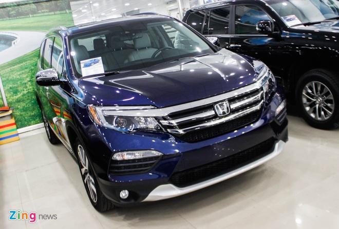 SUV 7 cho Honda Pilot 2016 ve Viet Nam hinh anh 1