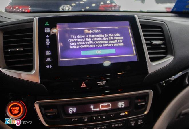 SUV 7 cho Honda Pilot 2016 ve Viet Nam hinh anh 9