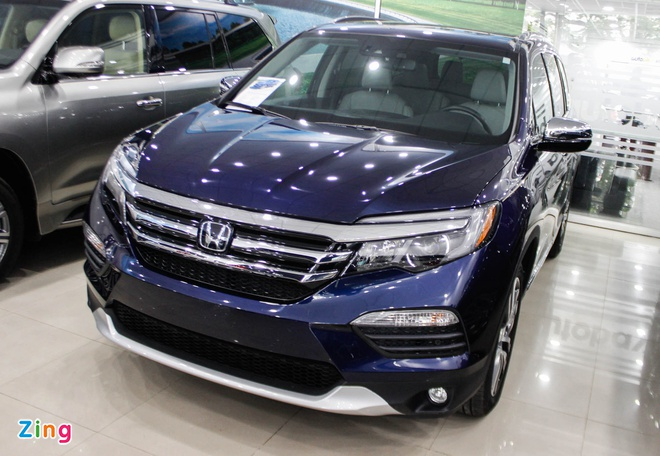 SUV 7 cho Honda Pilot 2016 ve Viet Nam hinh anh 2