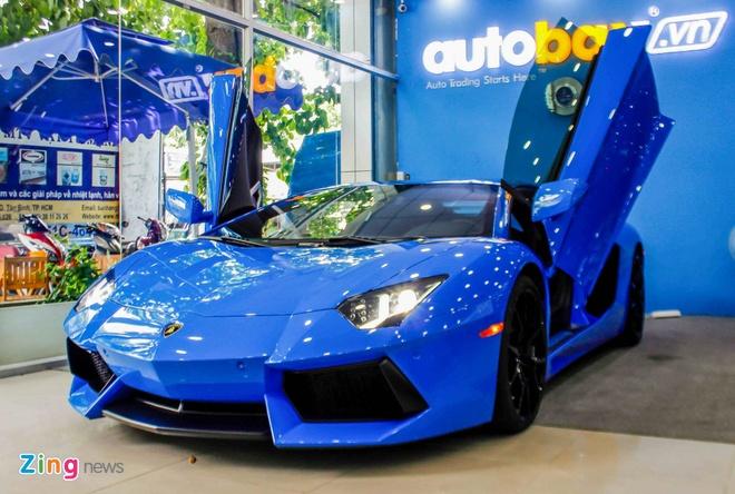 Lamborghini Aventador mau hiem anh 12