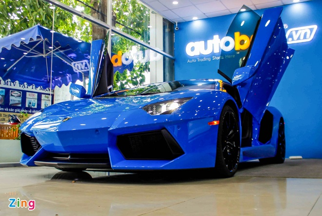 Lamborghini Aventador mau hiem anh 3