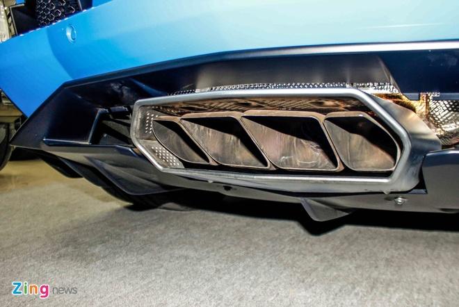 Lamborghini Aventador mau hiem anh 6