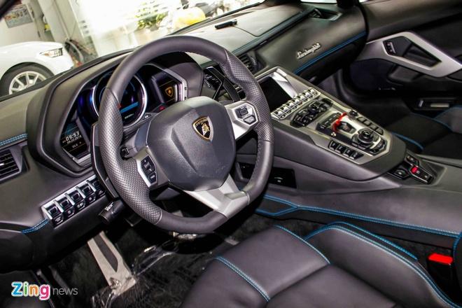 Lamborghini Aventador mau hiem anh 8