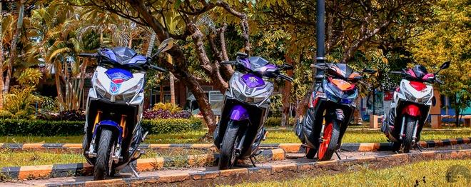 3 chiec Click Thai do do choi hang hieu o Sai Gon hinh anh 1
