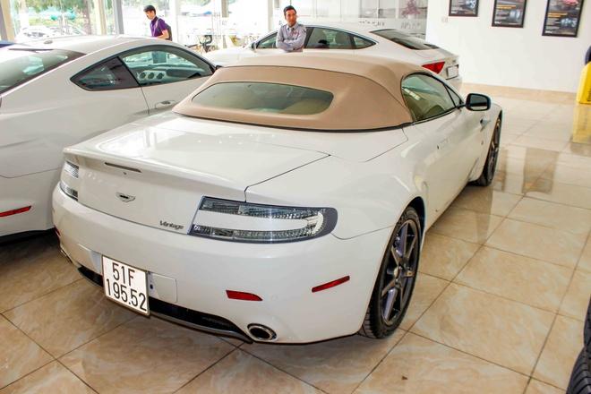 Sieu xe cu Aston Martin Vantage tai Sai Gon hinh anh