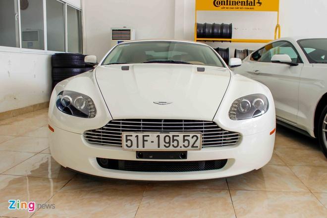 Sieu xe cu Aston Martin Vantage tai Sai Gon hinh anh 1