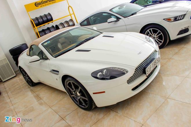 Sieu xe cu Aston Martin Vantage tai Sai Gon hinh anh 2