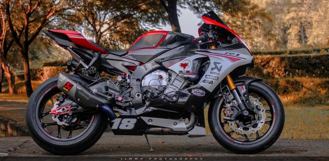 Yamaha R1 do carbon anh 1