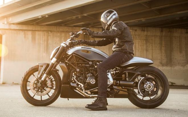 Ducati XDiavel khac la duoi ban tay tho do My hinh anh