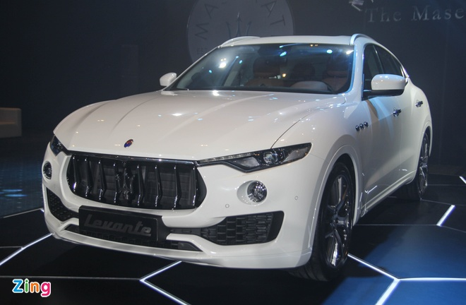 SUV hang sang Maserati Levante gia tu 5 ty tai Viet Nam hinh anh 1