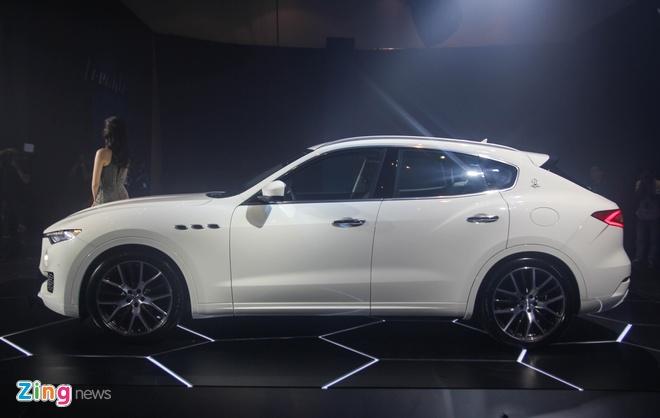 SUV hang sang Maserati Levante gia tu 5 ty tai Viet Nam hinh anh 2