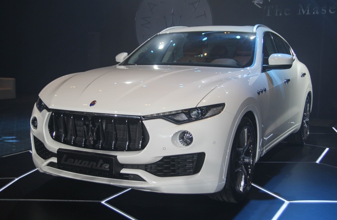 SUV hang sang Maserati Levante gia tu 5 ty tai Viet Nam hinh anh