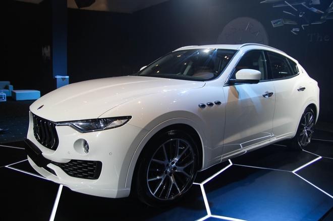 Chi tiet Maserati Levante dau tien tai Viet Nam hinh anh