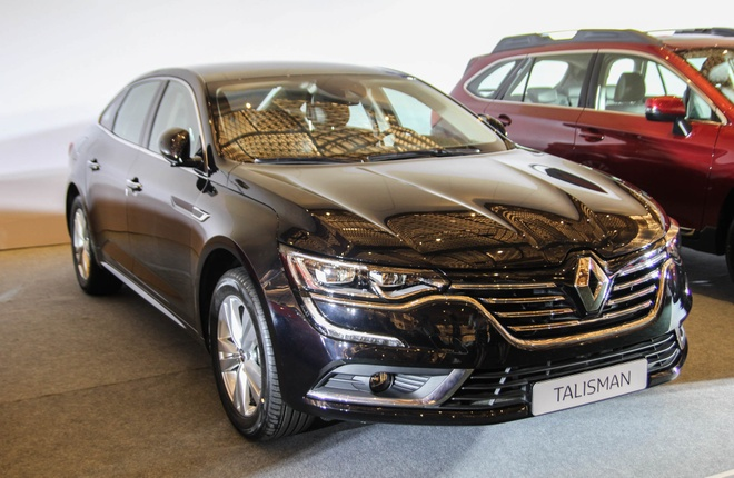 Chi tiet Renault Talisman - doi thu Toyota Camry tai VN hinh anh