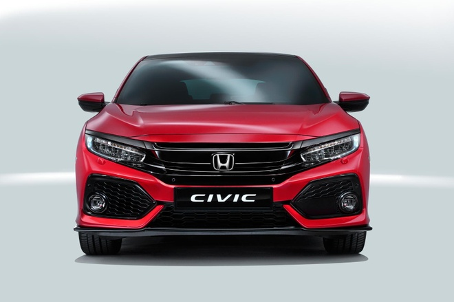 Honda Civic hatchback doi moi anh 2