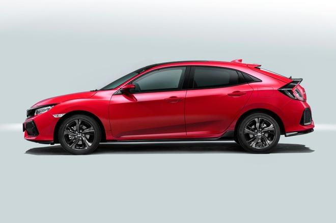 Honda Civic hatchback doi moi anh 3