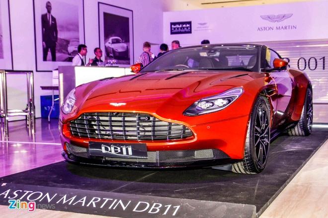 Aston Martin DB11 ra mat gioi dai gia Dong Nam A hinh anh 1