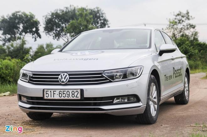 Volkswagen Passat: Sedan the thao danh cho nguoi tre hinh anh 3
