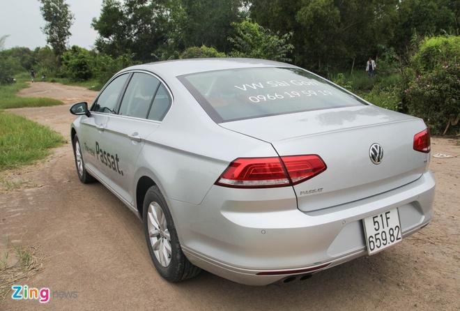 Volkswagen Passat: Sedan the thao danh cho nguoi tre hinh anh 2