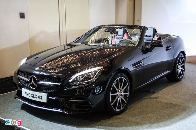 Mercedes SLC 43 AMG gia 3,6 ty dong tai Viet Nam hinh anh 1
