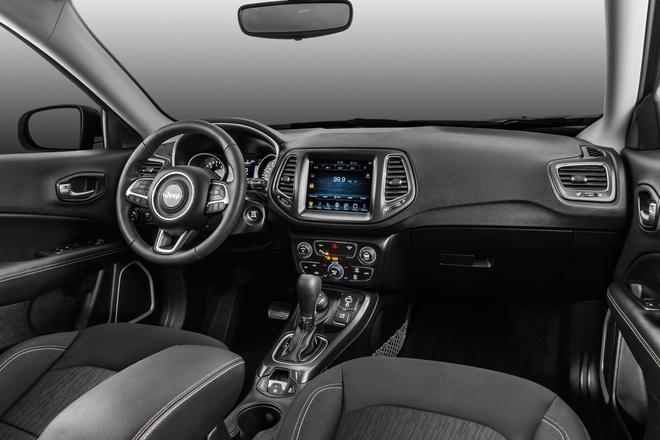 Jeep Compass - doi thu Mazda CX-5 ra mat hinh anh 3