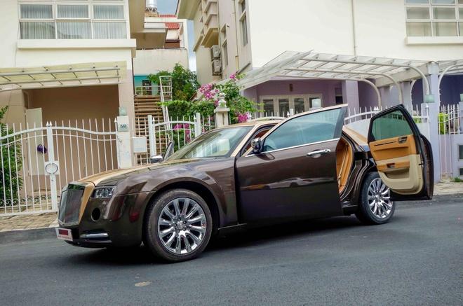 Tho Viet do Chrysler 300C thanh 'Rolls-Royce' het 200 trieu hinh anh