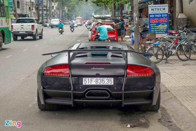 Sieu xe Lamborghini cu cua Minh Nhua ra bien so moi hinh anh 3