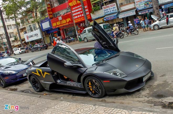 Sieu xe Lamborghini cu cua Minh Nhua ra bien so moi hinh anh 5