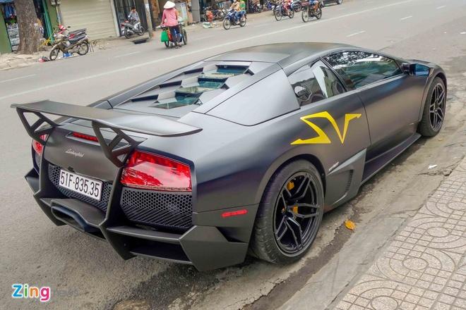 Sieu xe Lamborghini cu cua Minh Nhua ra bien so moi hinh anh 6