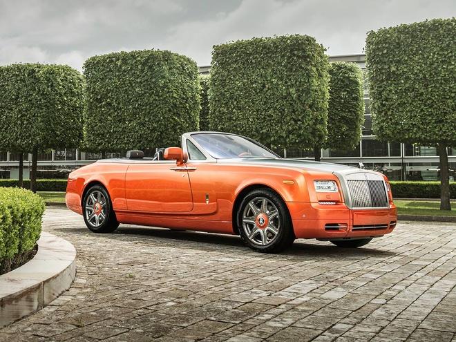 Rolls-Royce gioi thieu Phantom Drophead Coupe dac biet hinh anh 2