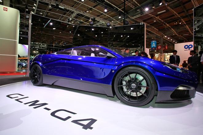 GLM G4 - sieu xe dien Nhat Ban canh tranh Tesla hinh anh 7