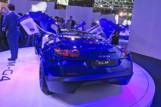 GLM G4 - sieu xe dien Nhat Ban canh tranh Tesla hinh anh 2