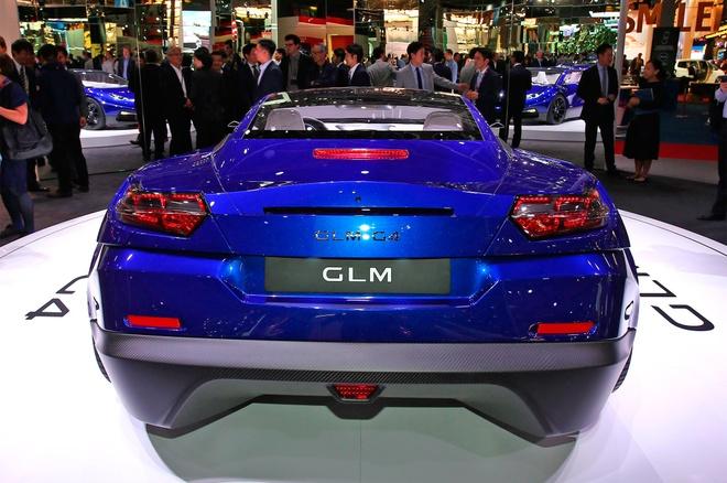 GLM G4 - sieu xe dien Nhat Ban canh tranh Tesla hinh anh 3