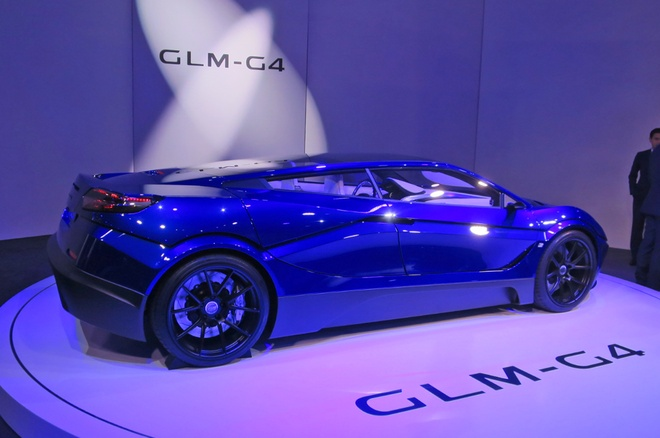 GLM G4 - sieu xe dien Nhat Ban canh tranh Tesla hinh anh 4