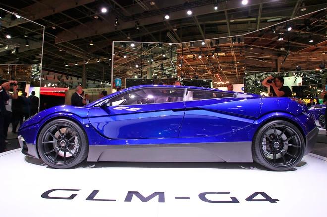 GLM G4 - sieu xe dien Nhat Ban canh tranh Tesla hinh anh 6