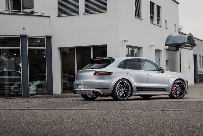 Cayenne Turbo S do Techart anh 1