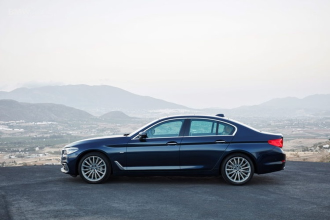 BMW 5 Series 2017 ra mat anh 3