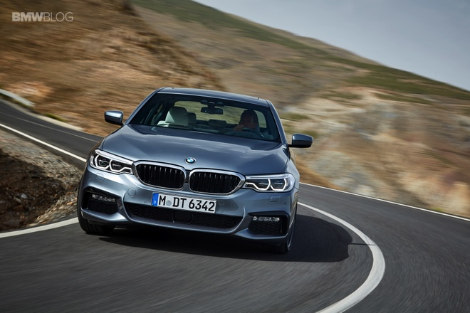 BMW 5 Series 2017 ra mat anh 1
