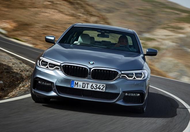 BMW 5-Series 2017 ra mat hinh anh