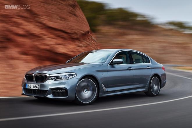 BMW 5 Series 2017 ra mat anh 2