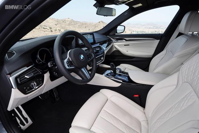 BMW 5 Series 2017 ra mat anh 5