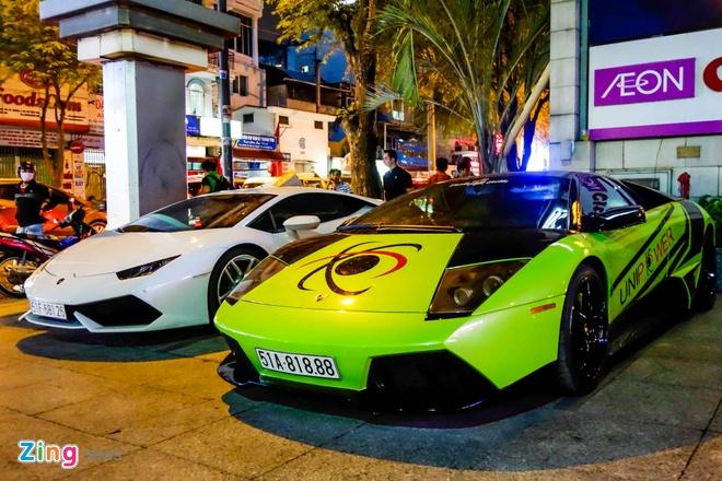 Dai tiec Lamborghini cua Minh Nhua o Sai Gon hinh anh 10