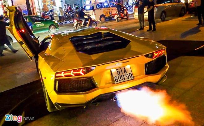 Dai tiec Lamborghini cua Minh Nhua o Sai Gon hinh anh 12