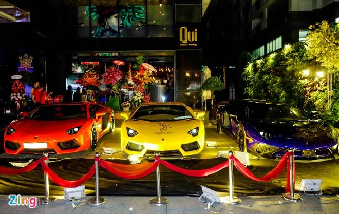 Dai tiec Lamborghini cua Minh Nhua o Sai Gon hinh anh 2