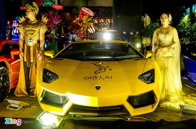 Dai tiec Lamborghini cua Minh Nhua o Sai Gon hinh anh 6