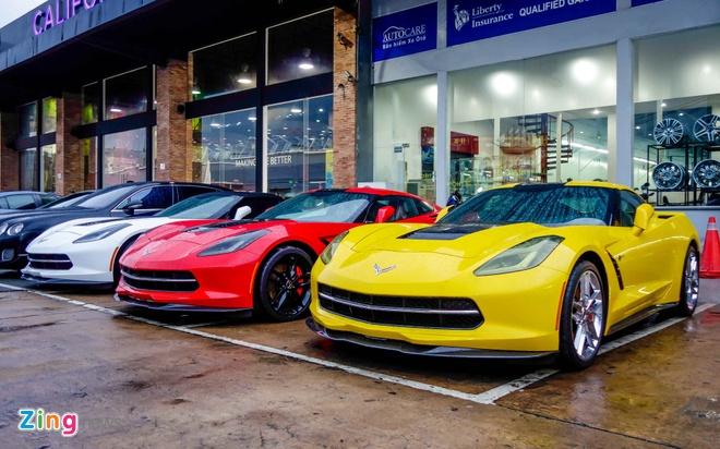 Ba xe the thao Corvette Stingray tai TP.HCM hinh anh 2