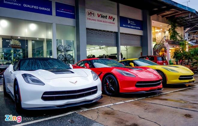 Ba xe the thao Corvette Stingray tai TP.HCM hinh anh 3