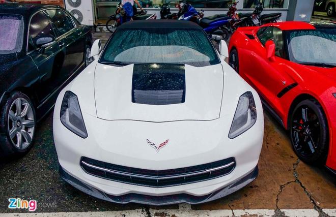 Ba xe the thao Corvette Stingray tai TP.HCM hinh anh 4