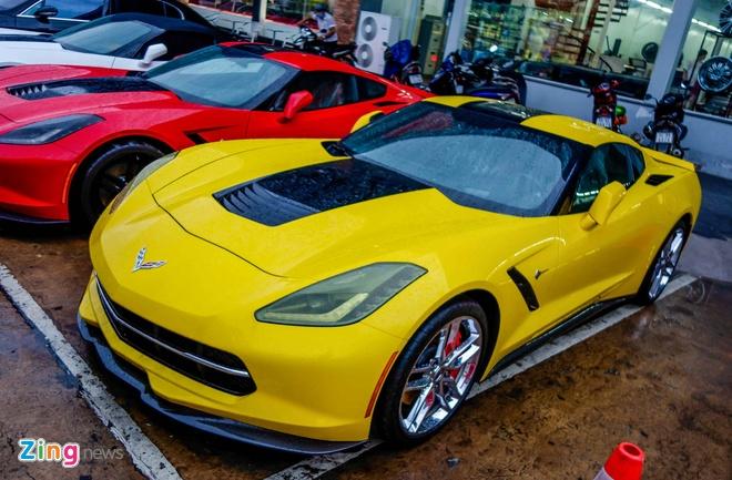 Ba xe the thao Corvette Stingray tai TP.HCM hinh anh 5