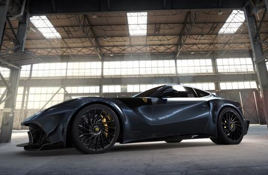 Ferrari F12 do carbon gioi han 10 chiec tren the gioi hinh anh